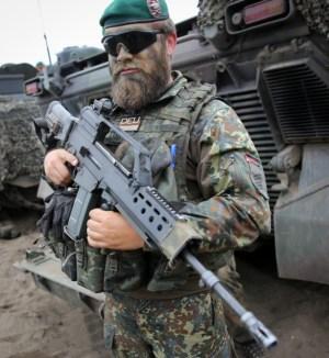 Los alemanes no están contentos con sus HK G36