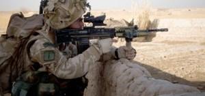 Los chavales no confían en este fusil de asalto. El SA80 es mediocre, en el mejor de los casos.