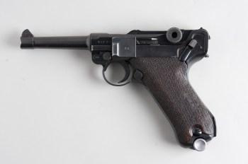 La pistola de los nazis. La Luger P08 tiene una siniestra reputación, pero en realidad no deja de ser más que una pistola innovadora