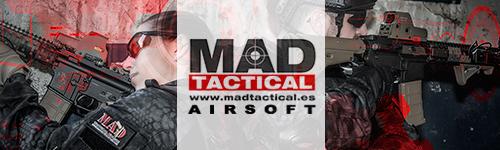 MAD Tactical Airsoft, tu tienda amigo de todo en airsoft