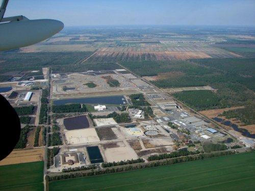 Instalaciones de ACADEMI en Moyock (North Carolina, EE.UU.)