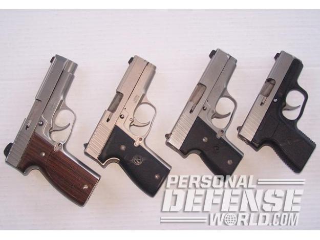 Las pistolas de DA/SA perdieron terreno frente a pistolas semiautomáticas de DAO como las de Kahr Arms.