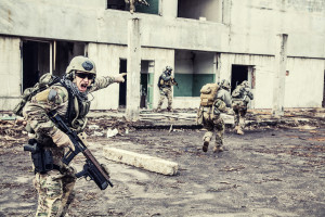 Rangers en acción