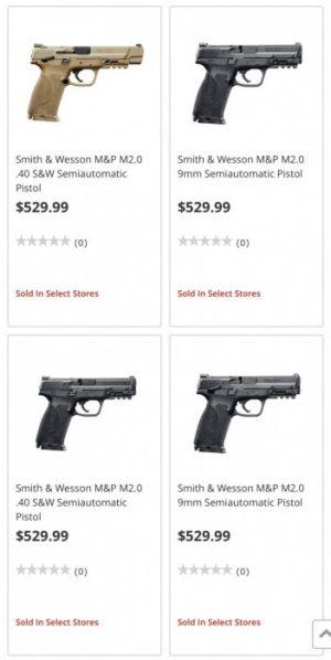 Nuevas pistolas M2.0 de Smith&Wesson