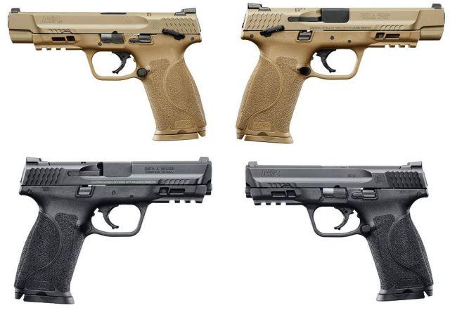 Pistolas de la nueva serie M2.0 de Smith and Wesson