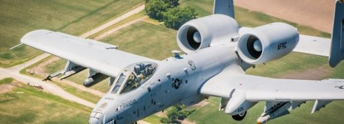 A-10 Formation fly over Kansas