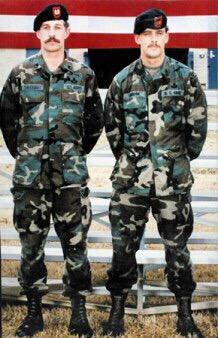 los miembros de la Fuerza Delta Gary Gordon y Randy Shughart