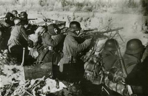 División Azul en el frente oriental durante la Segunda Guerra Mundial