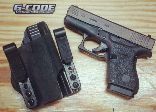 Pistola Glock G43 y funda AIWB G-Code INCOG