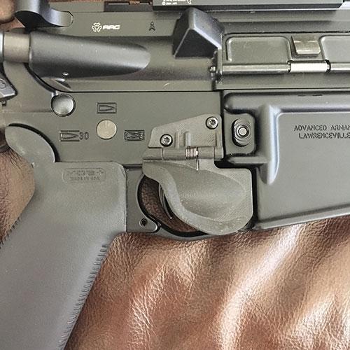 Triggershield, un cubredisparador para fusil