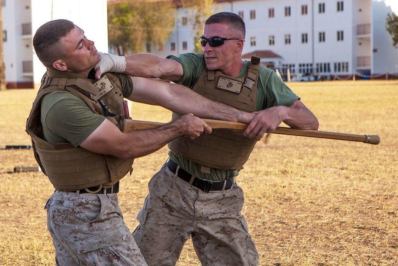Combate Cuerpo a Cuerpo Infantería de Marina estadounidense