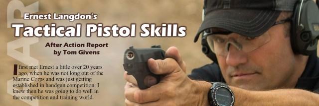 Curso Técnicas de Pistola Táctica [Tactical Pistol Skills] de Ernest Langdon Informe Posacción [After Action Report(AAR)], por Tom Givens. Rangemaster. DIC18