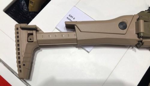 Culata del HK433 expuesto en la feria Enforce Tac 19