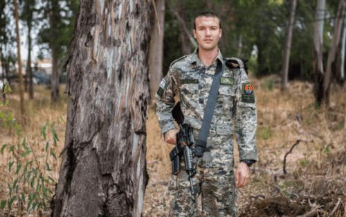 Patrón de camuflaje para las Fuerzas Armadas israelíes