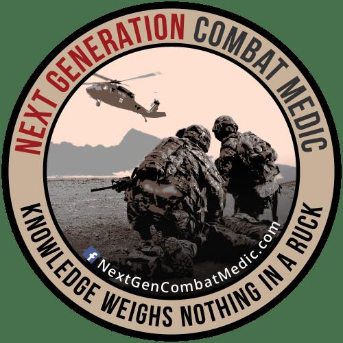 Imagen: logo del blog Sanitario de Combate de Próxima Generación [Next Generation Combat Medic]