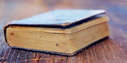 Imagen: Libro antiguo