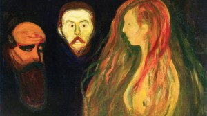 Edvard Munch - Tragedie (1898-1900) (Wikimedia Commons - Public domain)