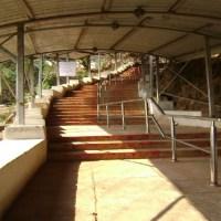 Srivari Mettu at Tirumala Hills (Shorter, Arduous path to Tirumala)