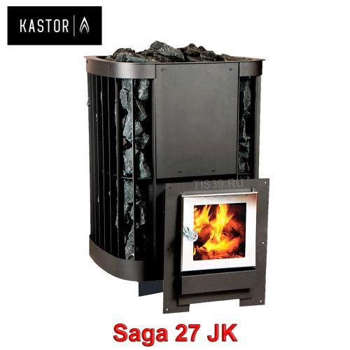 Печь для бани на дровах Kastor Saga JK 27