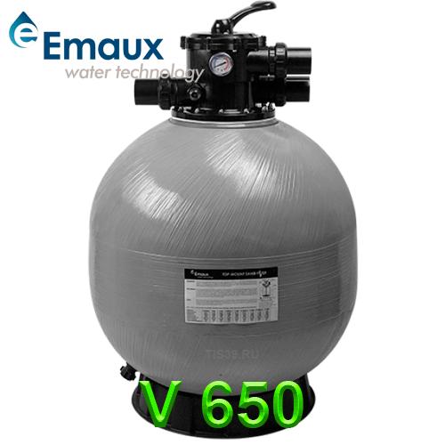 Фильтр для бассейна песочный Emaux V 650