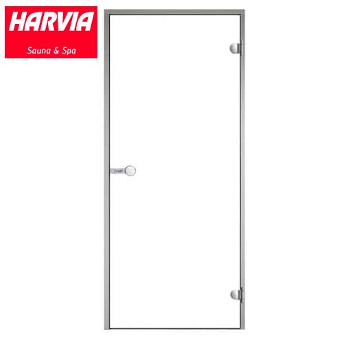 Дверь для турецкой бани хамама HARVIA DA-71904 стекло прозрачное,правая