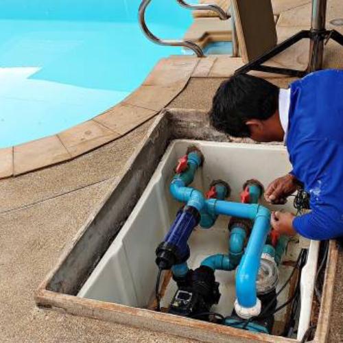 Диагностика оборудования бассейна однократный выезд