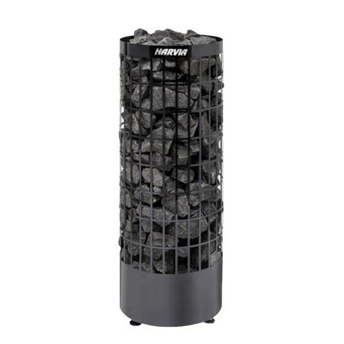 Электрическая печь для бани сауны Harvia Cilindro Black Steel купить Калининград