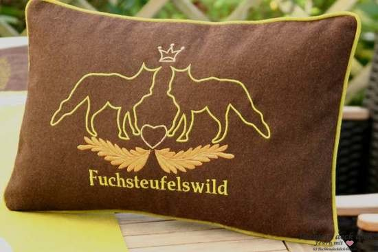 Kissen Fuchsteufelwild