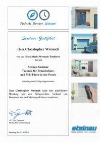 Technik für Brandschutz- und MZ-Türen in der Praxis - Christopher Wrensch