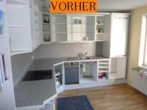 Wir tauschen Küchenfronten und Küchenarbeitsplatten - Tischlerei Albers