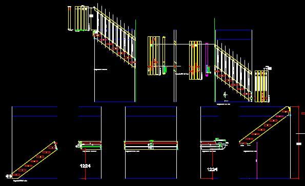 Treppenplanung im AutoCAD / CNC Programmierung