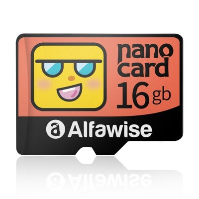 Alfawise Cartoon Face High Speed 16GB Memory Micro SD TF Card 1