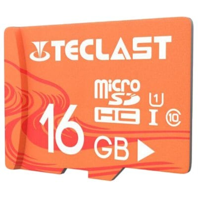 Teclast UHS-I U1 High Speed 16GB Micro SD / TF / Memory Card with Waterproof Function 1