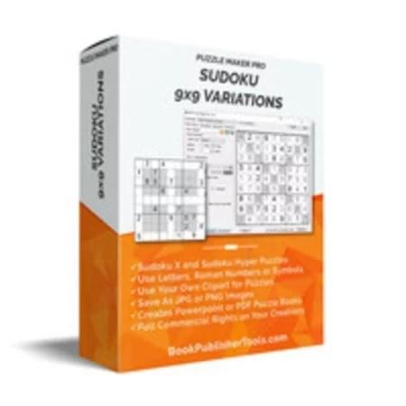 Puzzle Maker Pro - Sudoku 9x9 Variations 1