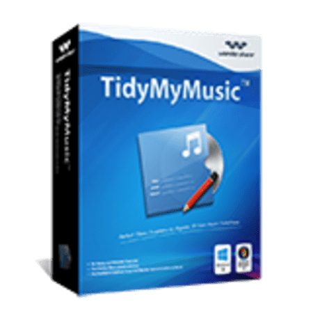 Wondershare Tidymymusic for Windows 1