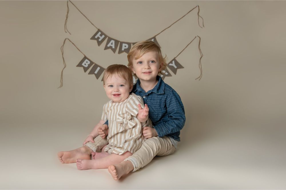 Family Portrait photography in camp hill pa studio