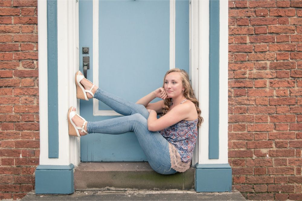 High School Senior Portrait Photography for girls in Camp Hill PA