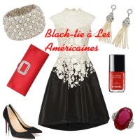 France vs. The United States: Black-tie Dressing