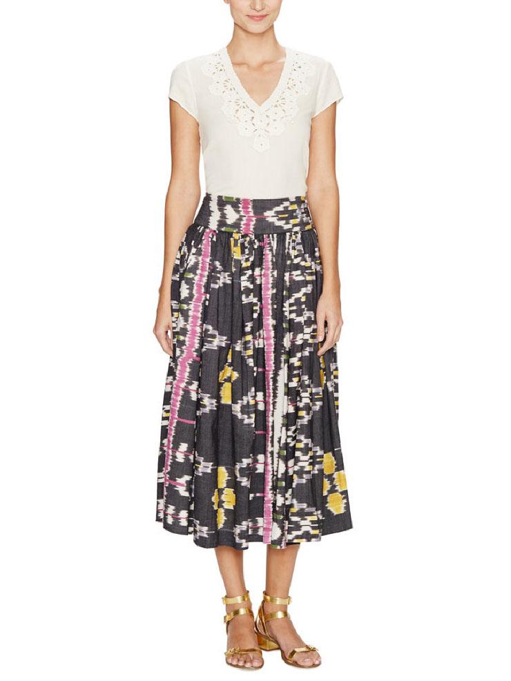 Midi summer skirt for Drea
