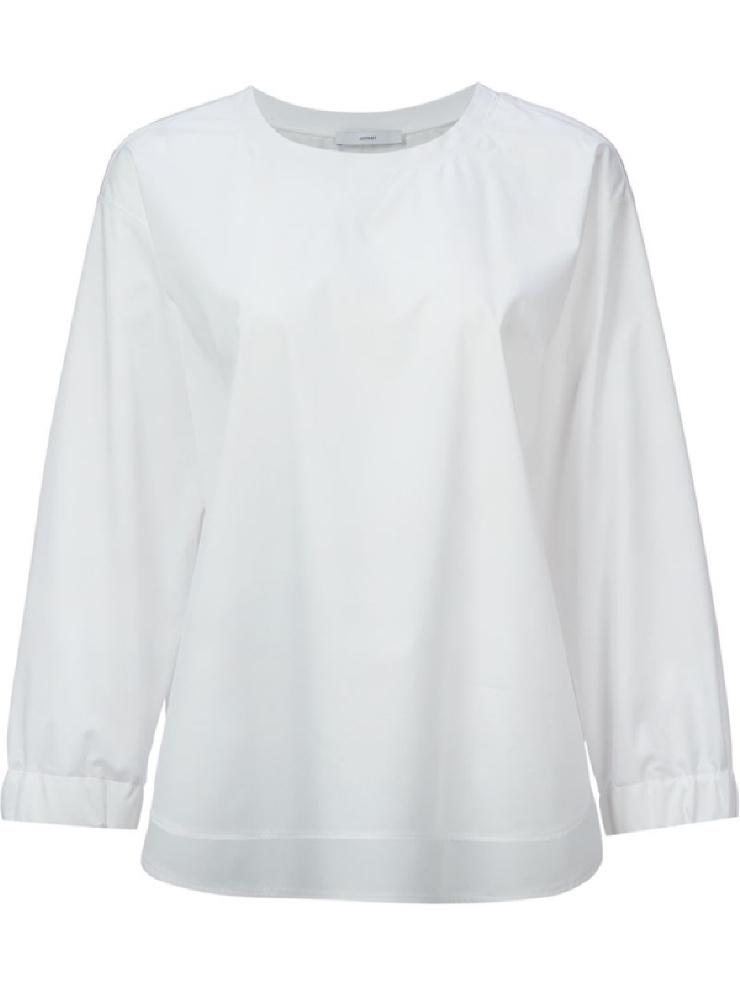 Boxy white blouse