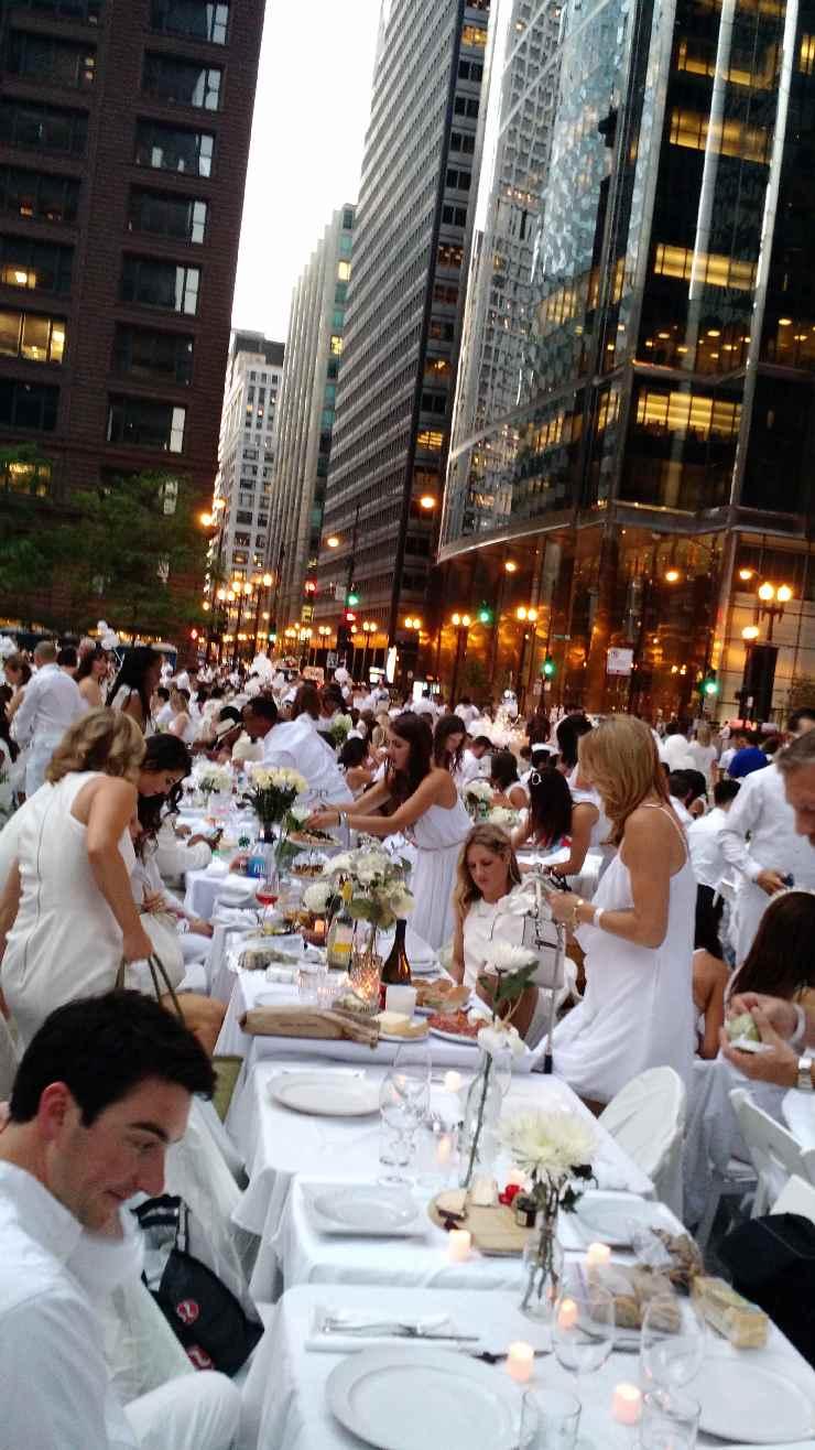 Diner en blanc Chicago