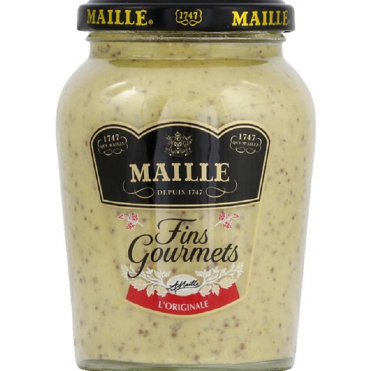 Fin gourmets mustard