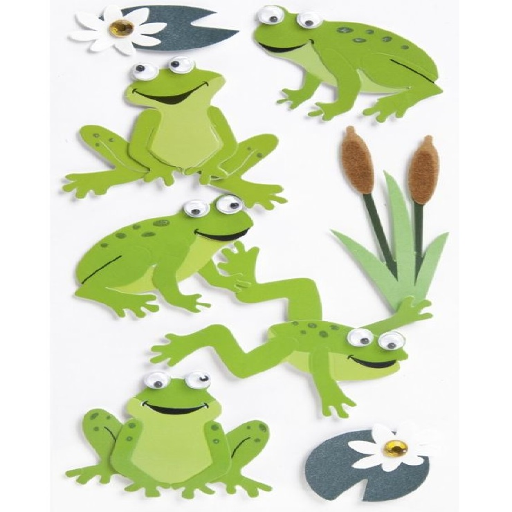 Grenouilles stickers