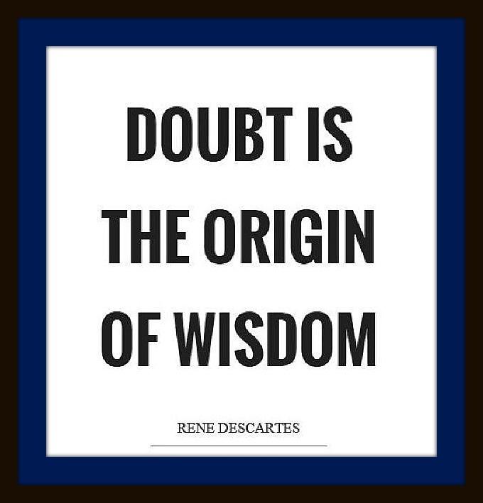 Descartes quote