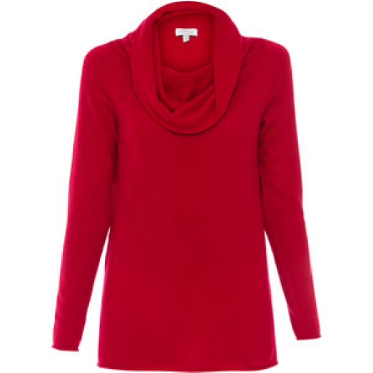 Halsbrook red sweater