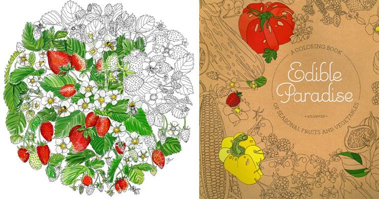 French coloring book