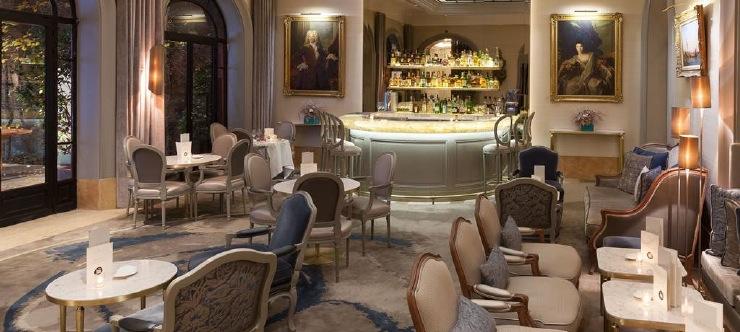 Hotel Lancaster bar