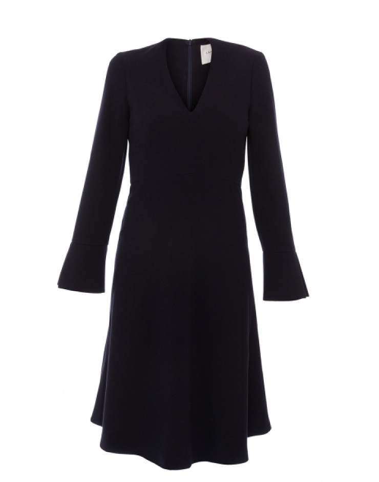 LK Bennett navy dress