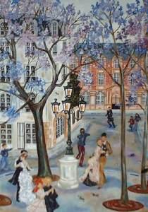 Bouchon painting