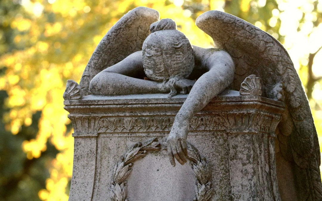 Grieving Angel Statue